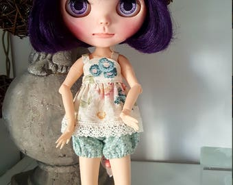 BLYTHE outfit small top and bloomers
