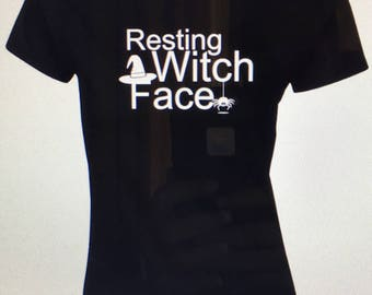Resting Witch Face Tshirt RWF32218