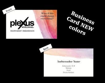 Plexus Business Card (DIGITAL file)