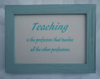 Appreciation, an educational quote by an unknown author.