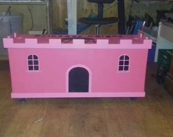 Hand-Crafted Personalised Princess Toy Box