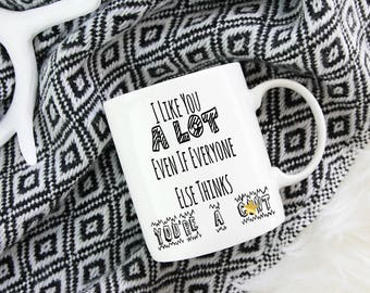 Everyone Thinks You are A C*nt - Mug Mature - Gift for Adult - Rude Mug - Rude Gift - Inappropiate Mug - Sweary Gift - Hilarious Coffee Cup