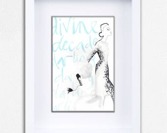 Devine Decadence Limited Edition Framed Fine Art Print