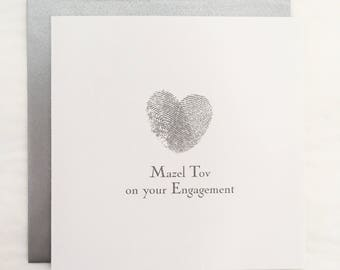 Engagement Greetings Card