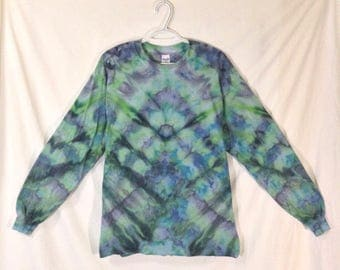 Large Tie Dye Long Sleeve T Shirt