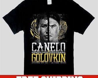 Saul Canelo Alvarez vs Gennady GGG Golovkin T Shirt FREE SHIPPING!