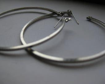 2 Inch Hoop Earrings