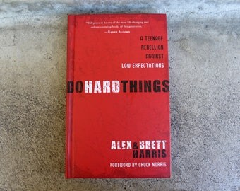 Blackout Book Journal || Do Hard Things