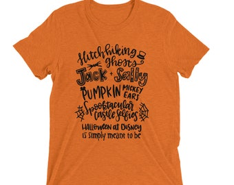 Halloween at Disney is Simply Meant to Be Disney Shirt