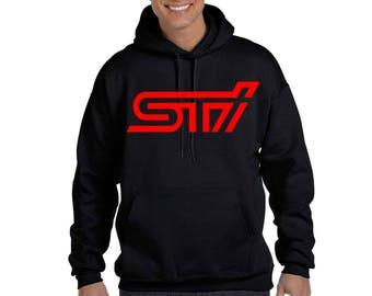 STI Hoodie Subaru Impreza WRX Cars Legacy Outback jdm drift race Sweatshirt
