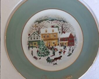 Avon 1980 Christmas Plate