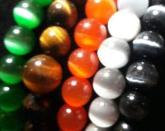 Colorful Cats Eye Bracelets
