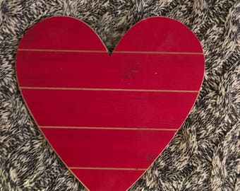 Wooden Heart Wall Hanging
