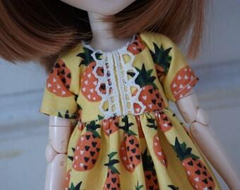 Pineapple dress for Pullip