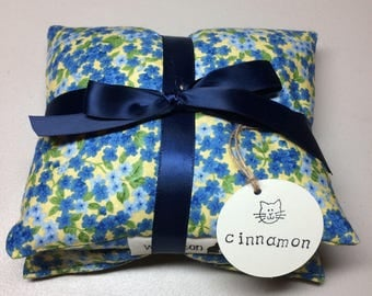 Microwave Flaxseed and Rice Heating Bag, Hot and Cold..........Cinnamon