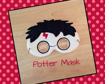Harry Potter Inspired Mask-Halloween Mask/Costume-Dress Up-Pretend Play-Imaginary Play- Birthday Party Favor-Theme Parties-Masks-Photo Prop