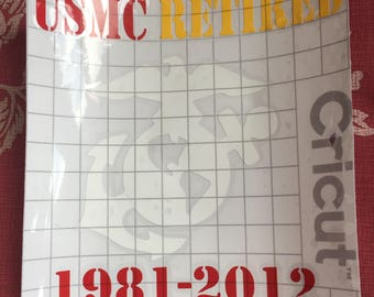 Military Service Decal
