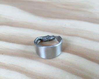 Simple Metal Band Ring