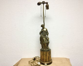 Gold plated Light shade from 18th century