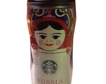 Starbucks tumbler Matryoshka Russia 355 ml