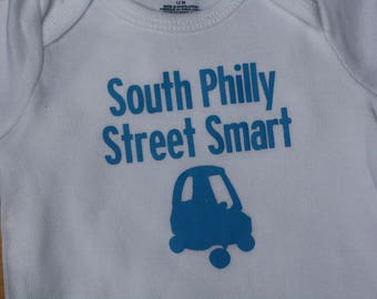 South Philly Street Smart Onesie - 12 months
