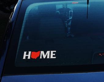 HOME Car Decal