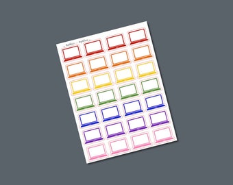 Laptop Icons - Planner Stickers