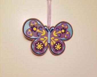 Purple Sparkle Butterfly