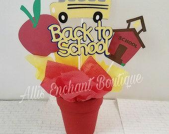Back to School Centerpiece School Class Party Teacher Class Party Kids School Events