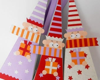 Santa's little helpers (set of 3)