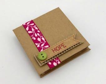 Hope: Topsy Turvey Mini Art Journal