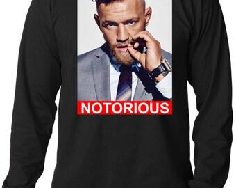 Conor McGregor 'Notorious' Long Sleeve