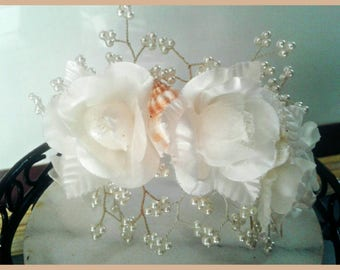 Bridal Hair Accessories Wedding Hair Comb Adjustable Bridal Hair Piece
