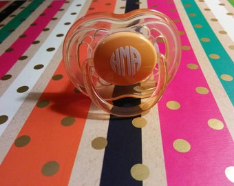 Personalized (Monogrammed) Pacifiers