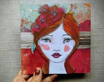 Everything is Beautiful - Handmade Card