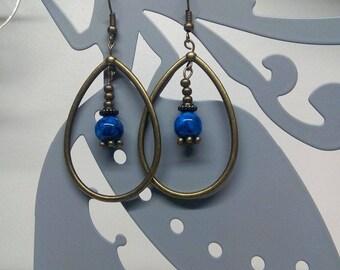 Earrings drop and Pearl