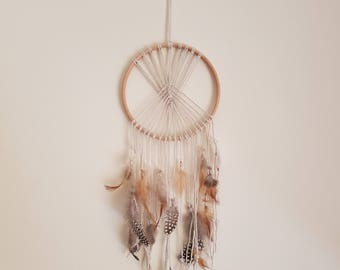 Boho dream catcher.