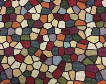 Stained Glass Upholstery Fabric