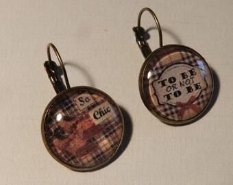 Pair of earrings So chic
