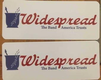 Widespread Panic Sticker - WSP - WSMFP