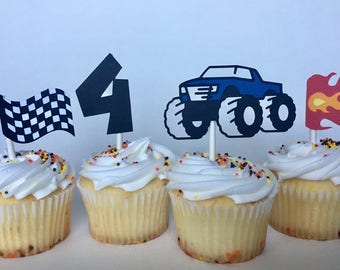 Monster Truck Party Toppers