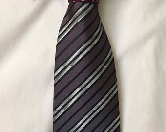 Two-Toned Tie (Blood and Steel)