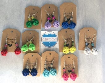 "Earring ""coil Apple"" colors"