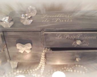 """Jewelry from Paris """"au petit Trianon by Emi jewelry box"""