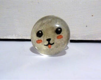 Kawaii animal ring