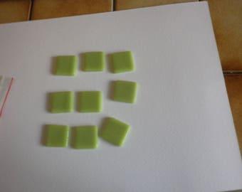 briare 14maux - glazes shiny smooth Green
