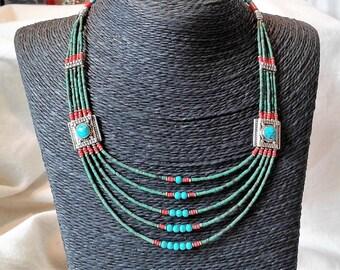 Himalayan ethnic necklace