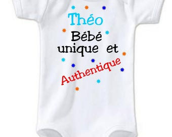 Unique and authentic Bodysuit personalized with name