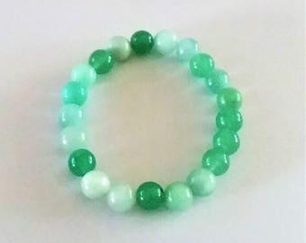 Mixed Greens Bracelet