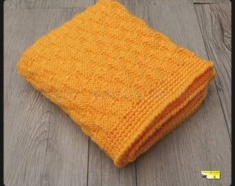 orange cover knitting and crochet for pram